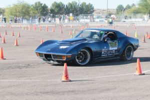 Danny Popp Wins Autocrosser of the Year at the 19th Goodguys Southwest Nationals in his '72 Corvette on Forgeline GA3R Wheels