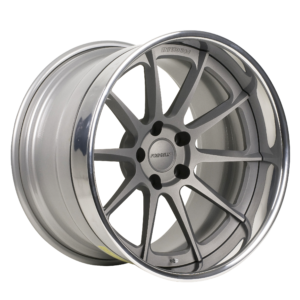 RB3C Concave with Titanium Center & Polished Outer