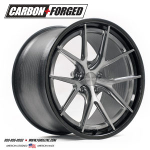 Forgeline Carbon+Forged CF201 in Tinted Clear
