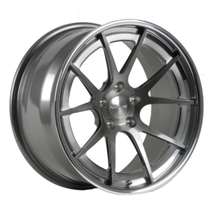 Forgeline GA3C-SL with Transparent Smoke Center and Polished Outer
