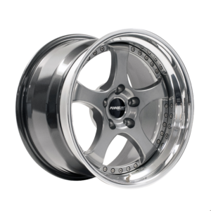 Forgeline RS3 with Midnight Silver Center and Polished Outer