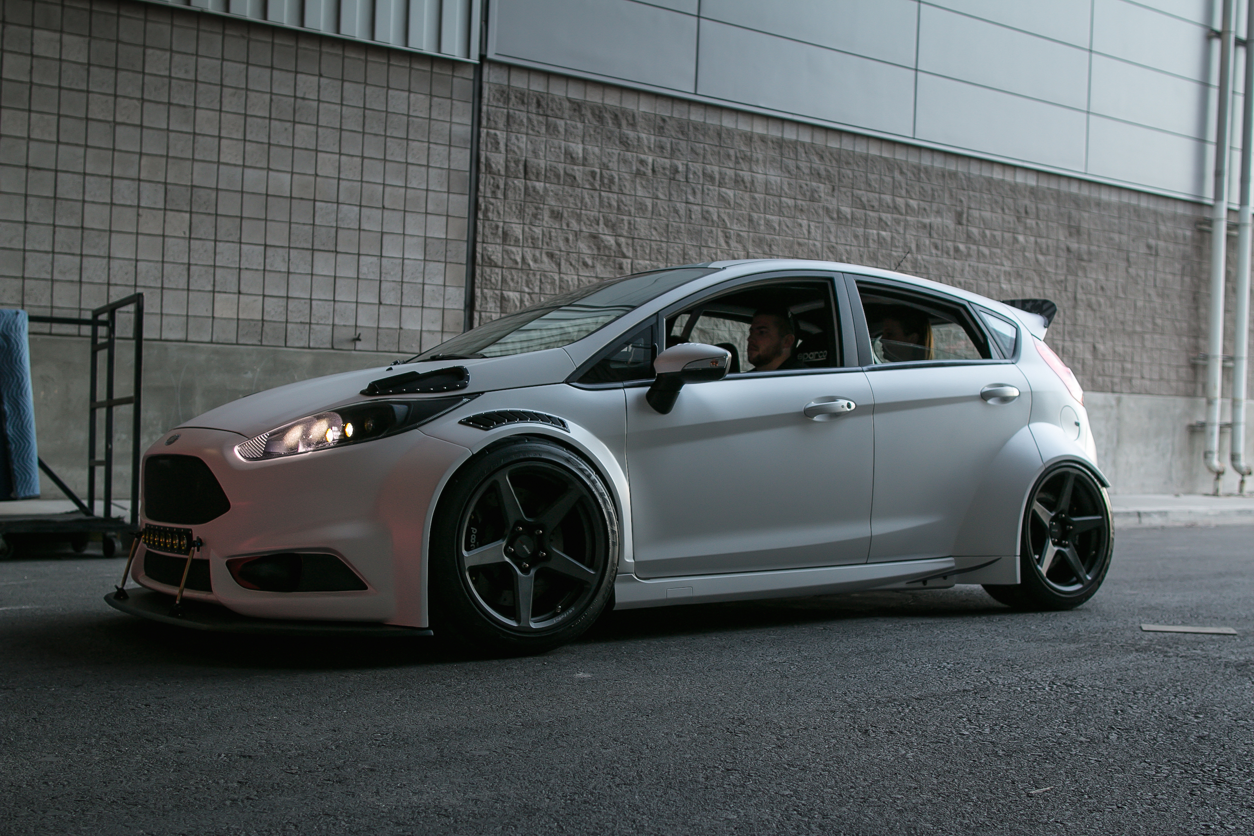 Tucci Hot Rods Widebody Ford Fiesta St On Forgeline One Piece Forged