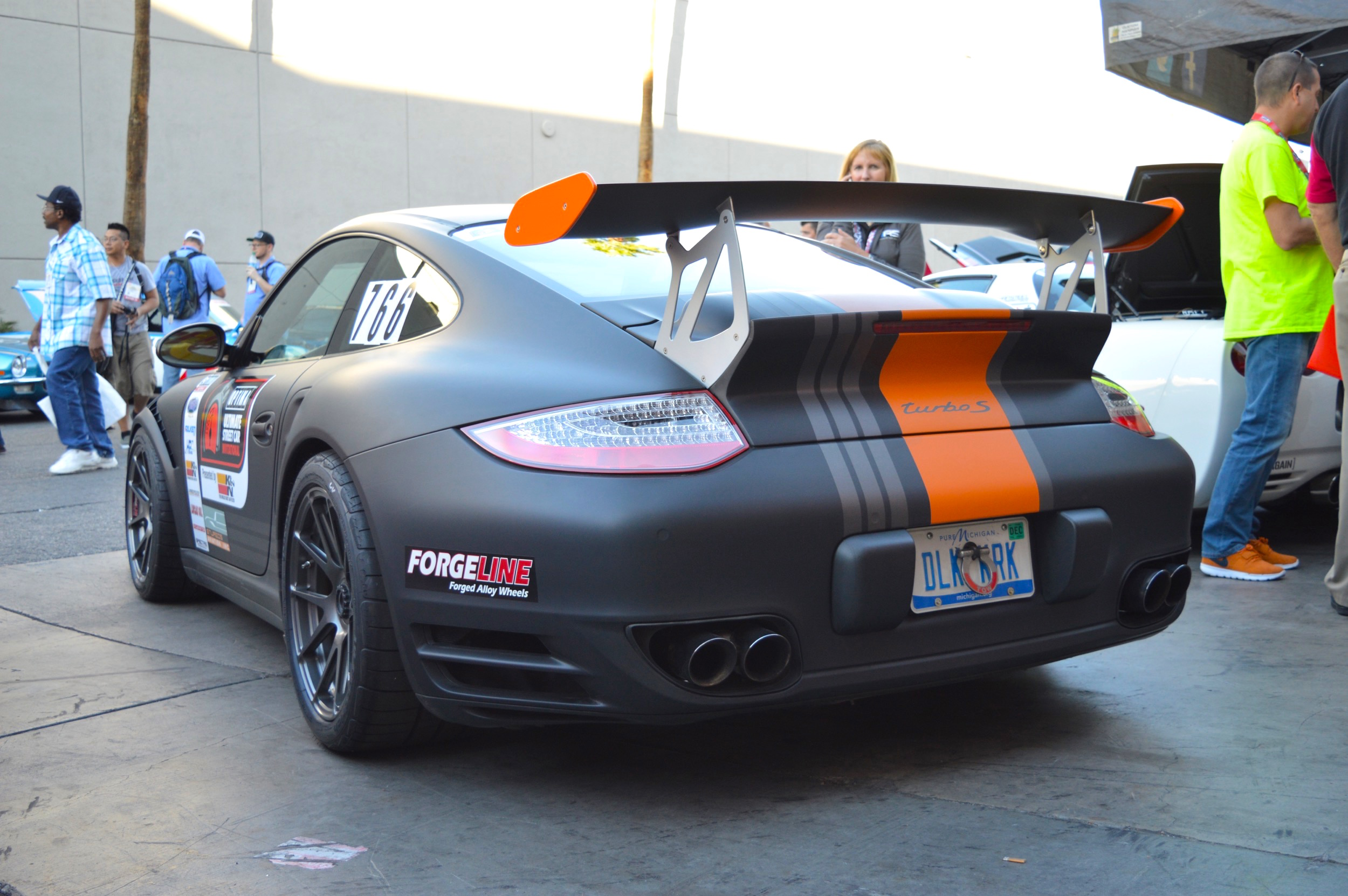 Danny King S 997 Porsche 911 Turbo S On Center Locking Forgeline One