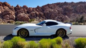 Tony Whatley's Deviate Motoring Dodge Viper on Forgeline One Piece Forged Monoblock GTD1-Viper Wheels