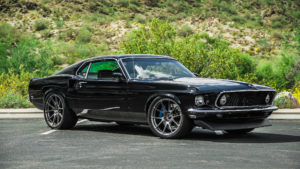 Hal Baer's '69 Mustang Mach 1 on Forgeline One Piece Forged Monoblock GA1R Wheels