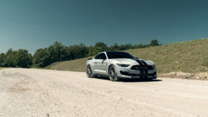 Dylan Taylor's Ford Mustang GT350 on Forgeline One Piece Forged Monoblock AR1 Wheels