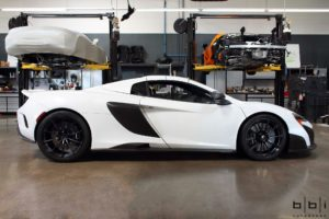 Michael's BBi Autosport-Prepped McLaren 675LT on Forgeline One Piece Forged Monoblock GT1 5-Lug Wheels