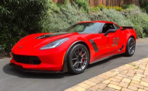 Stuart Calhoon's C7 Corvette Z06 on Forgeline One Piece Forged Monoblock GS1R Wheels