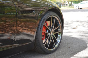 Dan Warrell's Jaguar F-Type on Forgeline One Piece Forged Monoblock AR1 Wheels