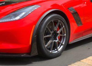 Stuart Calhoon's C7 Corvette Z06 on Forgeline One Piece Forged Monoblock GS1R Wheels