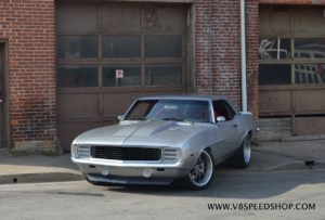 Lawrence Atwood's V8TV Pro-Touring '69 Camaro on Forgeline ZX3P Wheels