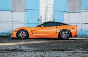 Jimmy Pham's Supercharged C6 Corvette Z06 on Forgeline GZ3 Wheels