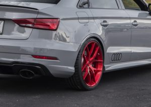 Pfaff Tuning-Prepped Audi RS3 on Forgeline One Piece Forged Monoblock VX1 Wheels