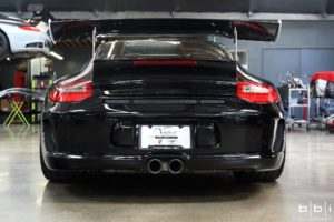 BBi Autosport's Porsche 997.2 GT3 Street Cup on Forgeline One Piece Forged Monoblock GA1R Wheels