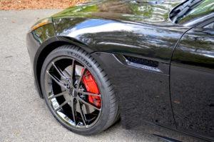 Dan Warrell's Jaguar F-Type on Forgeline One Piece Forged Monoblock AR1 Wheels
