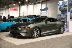 """Petty's Garage """"Track King"""" Widebody 2018 Ford Mustang on Forgeline Carbon+Forged CF201 Wheels"""