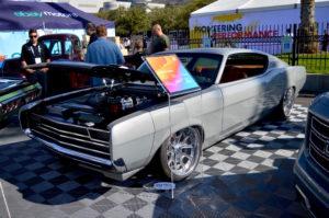 "Carlos' B-Line Auto ""Shadowless"" '69 Ford Torino on Forgeline Grudge Wheels"
