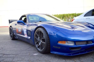 Jake Rozelle's C5 Corvette Z06 on Forgeline One Piece Forged Monoblock VX1R Wheels