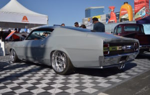 "Carlos' B-Line Auto ""Shadowless"" '69 Ford Torino on Forgeline Grudge Wheels"