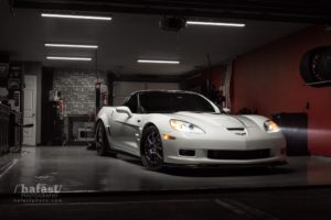 Jason Wallace's Chevrolet Corvette ZR1 on Forgeline GA3 Wheels