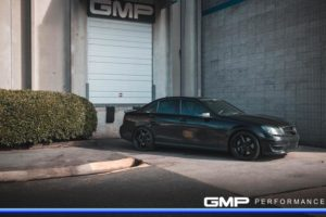 Frank De Lellis' Blacked-Out GMP Performance AMG C63 on Forgeline CF3C Wheels
