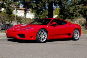 Morton Engineering's Ferrari 360 Modena on Forgeline One Piece Forged Monoblock SE1 Wheels