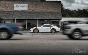 Porsche 991 GT3 RS on Forgeline Carbon+Forged CF201 Wheels from American Body Works