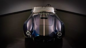 Shawn Hibbard's Vintage Motorsports Backdraft Racing RT3GT '65 Cobra on Center Locking Forgeline GA3C Wheels