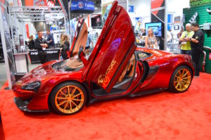 Glaswerks McLaren 570GT on Forgeline One Piece Forged Monoblock GT1 5-Lug Wheels