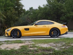 Advance Performance C2 Design Mercedes-AMG GT S on Forgeline One Piece Forged Monoblock GT1 5-Lug Wheels