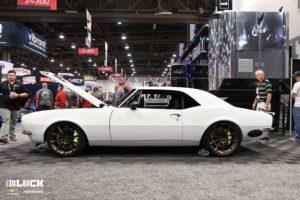 "Ironworks Speed & Kustom ""Fairway '67"" Camaro on Forgeline One Piece Forged Monoblock RB1 Wheels"