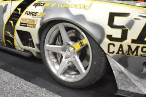 Mike Dusold's Twin Turbo '67 Camaro on Forgeline CF1 Open Lug Wheels