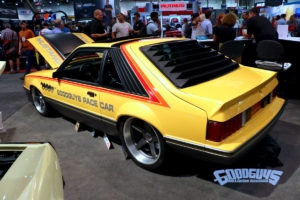 Goodguys 1979 Fox Body Ford Mustang Pace Car on Center Locking Forgeline CF3C Wheels