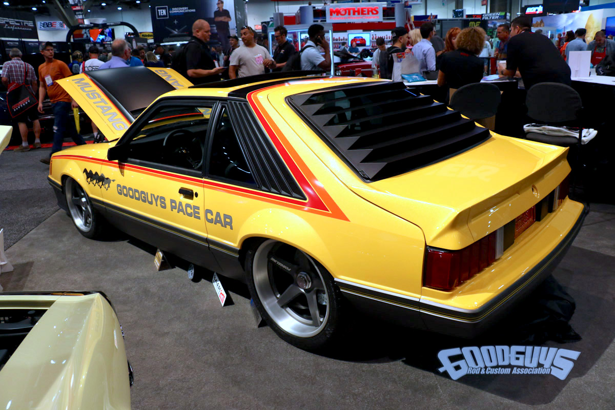 Fox Body Wheels >> Goodguys 1979 Fox Body Ford Mustang Pace Car On Center Locking