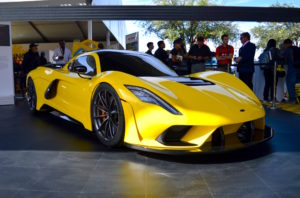 Hennessey's 1600HP 300mph Venom F5 on Forgeline One Piece Forged Monoblock GT1 5-Lug Wheels