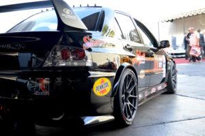 Ken Thwaits' OUSCI-Winning Mitsubishi EVO on Forgeline One Piece Forged Monoblock GS1R Wheels
