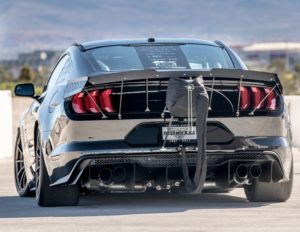 Tucci Hot Rods' 200mph Twin Turbo Ford Mustang GT on Forgeline One Piece Forged Monoblock GTD1 5-Lug Wheels