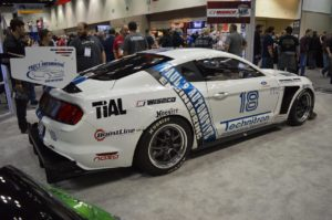 Brian Faessler's Turbocharged Ford Mustang GT350R on Forgeline GA3R Wheels