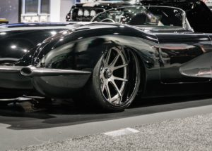 Hot Rod Service Company's Pro-Touring 1959 Corvette on Center Locking Forgeline GA3C Wheels