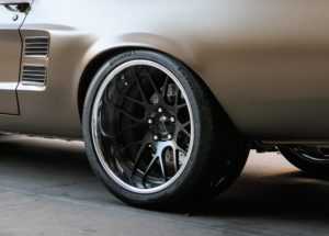 Detroit Deluxe 1967 Ford Mustang Fastback on Forgeline DE3C Wheels