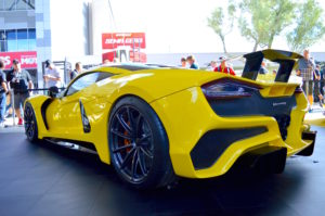 Hennessey's 1600HP 300mph Venom F5 on Forgeline One Piece Forged Monoblock GT1 5-Lug Wheels