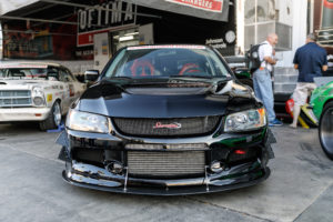Ken Thwaits' OUSCI-Winning Mitsubishi EVO on Forgeline One Piece Forged Monoblock GS1R Wheels