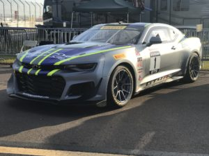Lawson Aschenbach Wins at St Pete in his #1 Blackdog Speed Shop Chevrolet Camaro GT4.R on Forgeline One PIece Forged Monoblock GS1R Wheels