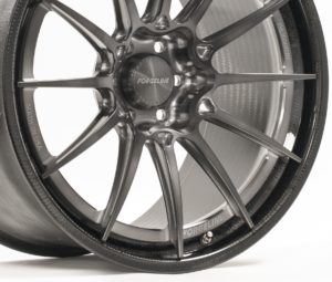 Forgeline Carbon+Forged CF206 in Transparent Smoke