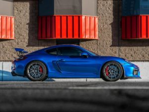 John Wu's Porsche Cayman GT4 on Forgeline One Piece Forged Monoblock GS1R Wheels
