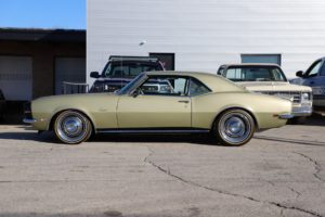 "Roadster Shop's ""Goldie"" 1968 Camaro on Forgeline RS-OE1 Wheels"