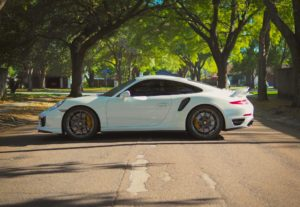 Advance Performance Porsche 991 911 Turbo S on Forgeline One Piece Forged Monoblock VX1R Wheels