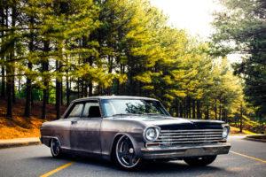 Gordon McGilton's Detroit Speed-Built 'Angry Nova' 1963 Chevy II on Forgeline Rodster Wheels