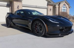 Mike Easterly's C7 Corvette Z06 on Forgeline Carbon+Forged CF204 Wheels