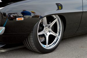 "Stuart Adam's ""TUX"" '69 Camaro on Detroit Speed-designed Forgeline wheels"